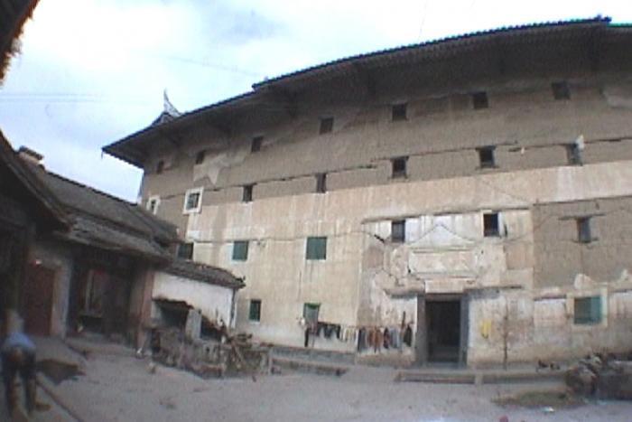 版築造の例:〇〇土楼