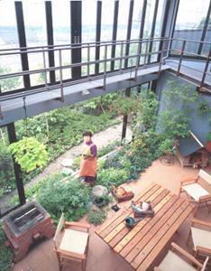 絶対楽しいインナーテラスアウトドアライフの家(神奈川県横浜市)