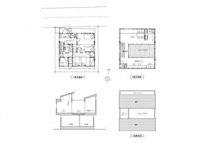 インナーテラスの家