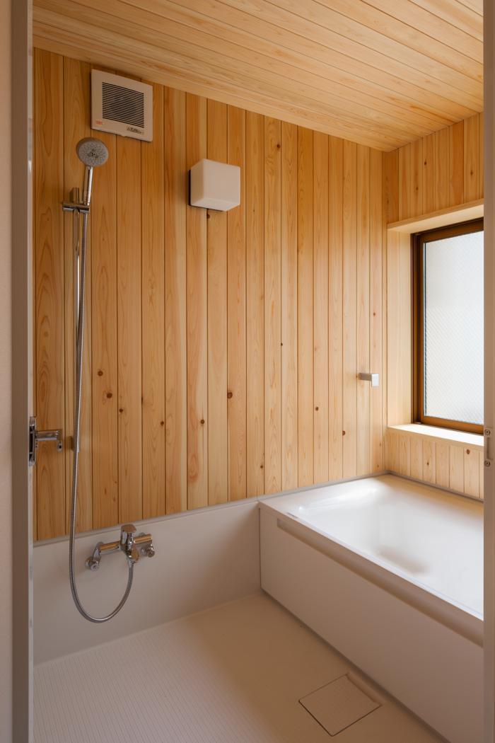 木造耐火構造でつくる木の住まい・木の浴室
