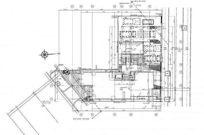 Lohasなワンルームマンション・1階平面図