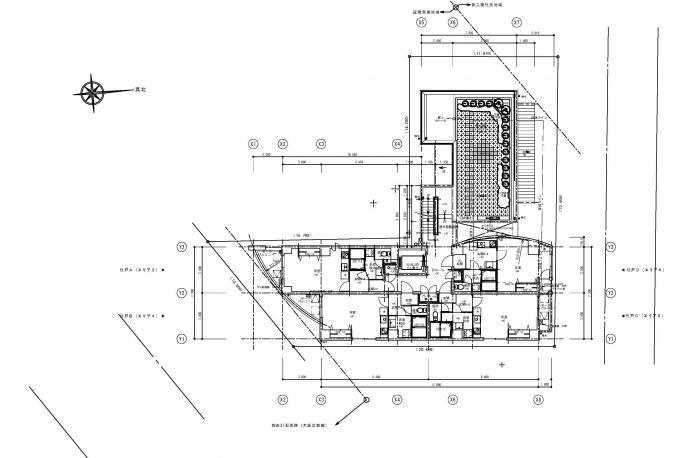 Lohasなワンルームマンション・3階平面図