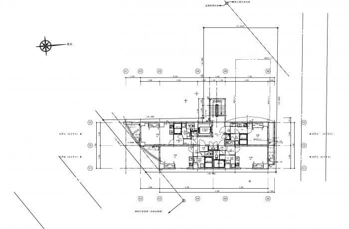 Lohasなワンルームマンション・7階平面図